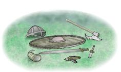 """7 Habits of Highly Effective Vikings""    Swords, shields, axes, daggers, helmets, meadhorns, phaser pistols... ja, we ready!"