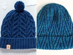 Textured Knitted Beanies Free Patterns Cables or other structural patterns are n. Textured Knitted Beanies Free Patterns Cables or other structural patterns are not as difficult as they look. These Text. Beanie Knitting Patterns Free, Beanie Pattern Free, Free Knitting, Free Crochet, Free Pattern, Knit Crochet, Crochet Patterns, Mens Knit Beanie, Knit Hat For Men
