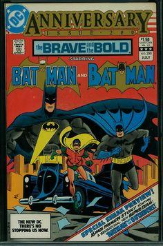 The Brave and the Bold (Volume) - Comic Vine Brave And The Bold, Be Bold, Dc Comic Books, Comic Art, Batman Comics, Dc Comics, Batman Pictures, Bat Family, Bronze Age