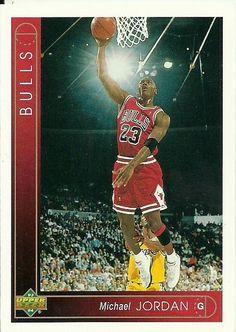 d27134367a5 1993 Upper Deck Michael Jordan  23 Basketball Card for sale online