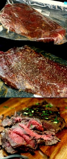 Spectaculiar Asian Marinated Flank Steak and How to Make Flank Steak as Tender as Filet Mignon.