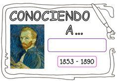 Van Gogh Pinturas, Arte Van Gogh, Vincent Van Gogh, Learning, Funny, Picasso, Draw, Even And Odd, Kid Art