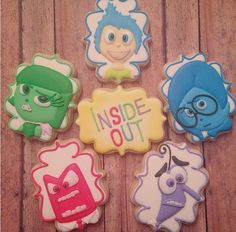 "Sheena Amodio on Instagram: ""How cute is this Inside Out cookie set for sweet…"