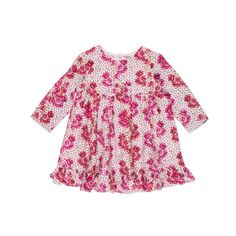 Paul Smith Junior | Baby Girls' Pink Floral Bow Dress