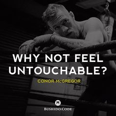 """At the end of the day you gotta feel some way. So why not feel unbeatable? Why not feel untouchable? - Conor McGregor You can't become a champion without the mindset of a champion and one thing is for sure love him or hate himConor McGregor has the mindset of a champion. I want you to think of your mind like a radio; the station you're tuned into is going to determine the music that plays in your life. So why not tune into a station of EXCELLENCE? The greatest minds have told us AGAIN and…"