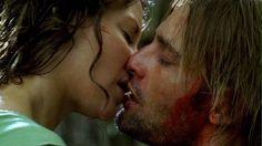 Kate and Sawyer...