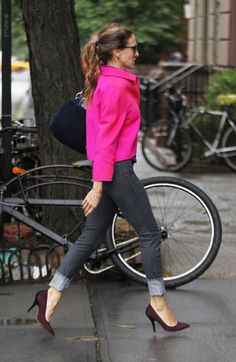 This jacket is just fabulous and of course just realised it's SJP