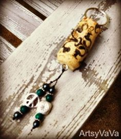 I have seen quite a few cork key chains on the web and decided I would make some. After all, I have NO shortage of corks.   Most of th...