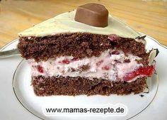 Rezept Kleine Schoko- Erdbeer- Torte auf Mamas Rezepte Homepage