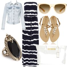 """""""Beach Chic"""" by clarrisa-clinton on Polyvore"""