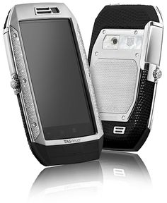 High end ANDROID OS phones from watchmaker TAG Heuer.