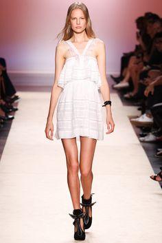 Isabel Marant Spring 2014 Ready-to-Wear Fashion Show - Elisabeth Erm (Elite)