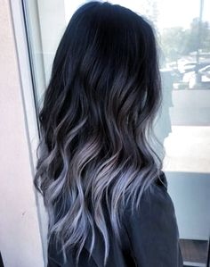 Hair color ideas for brunettes balayage purple dark brown 46 ideas Ombre Hair Color For Brunettes balayage brown brunettes color Dark hair Ideas purple Lilac Grey Hair, Brown Ombre Hair, Brown Hair Balayage, Lavender Hair, Balayage Brunette, Ombre Hair Color, Light Brown Hair, Cool Hair Color, Brunette Hair