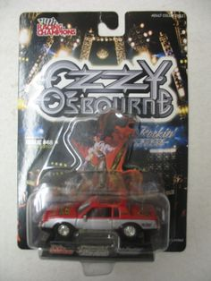 Ozzy Osbourne The Ultimate Sin - Hot Rockin' Die Cast Car #48