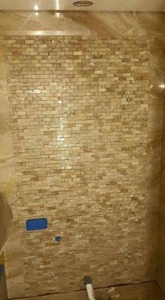 Breccia oniciato wall feature mosaic