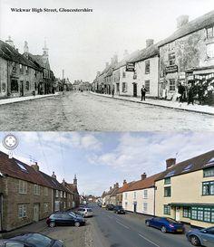 Gloucestershire Then & Now - Wickwar High Street