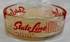 State Line Hotel & Casino ashtray from Wendover Nevada The State Line Hotel merged in with the Silver Smith built in 1994 and State Line Silver Smith I believe?