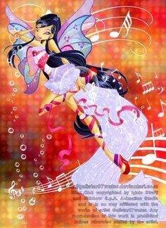 Fairy of Music by Galistar07water.deviantart.com #WinxClub