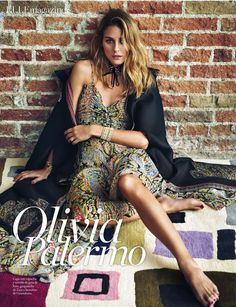Olivia appearspositively stunning (and certainly Spanish inspired) on the cover and on the inside pages of Elle Spain's June issue. Reminding us of evenings in Barcelona and Madrid, stylist,…