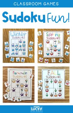 Kids LOVE Sudoku! This low-prep activity will help build your students' problem-solving skills!