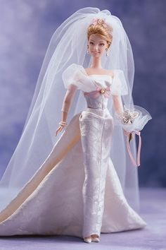 Wedding-day Barbies: Sophisticated Wedding Barbie (2002)