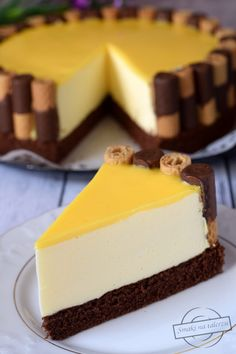 Ciasto Adwokatowe – Smaki na talerzu Baking Recipes, Cookie Recipes, Cake Decorating Frosting, Homemade Cheesecake, Buttery Cookies, Happy Foods, Pastry Cake, Homemade Cakes, No Bake Desserts