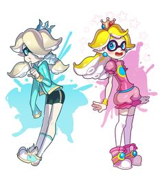 splatoon / super mario