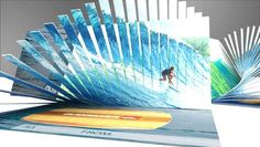 The 'Wave Gift Card' by Evelio Mattos and John Turner Captures the Ocean #advertising #ads