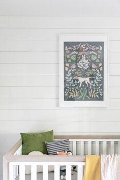 Helmsie Hunting Print // Farmhouse Nursery Wall Decor
