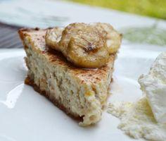 Banana cheesecake recipe