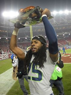 """""""Sherman's big night leads Seahawks past 49ers again""""  i'm gonna remember that Thanksgiving for a long time, Sherman & Wilson's turkey dinner on the 49ers 50 yd line!"""