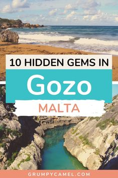 Want to get off the beaten path in Gozo? Check out these hidden and beautiful places on the island, including secluded beaches and ancient ruins. Malta Travel Guide, Europe Travel Guide, Europe Destinations, Spain Travel, Travel Guides, Travel Advice, European Travel Tips, Travel Through Europe, Secluded Beach