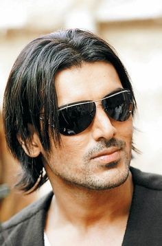Bollywood Actor John Abraham John Abraham Long Hair Styles Hairstyle John Abraham