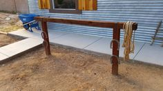 diy hitching post - Google Search