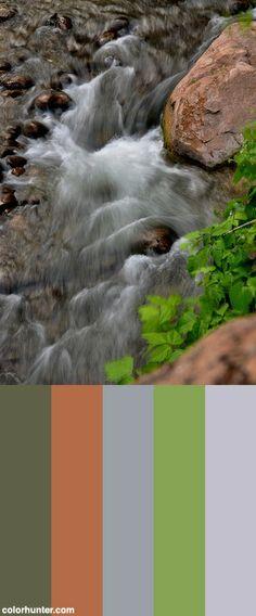 Zion National Park, Utah Color Scheme