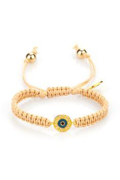Carolina Loyola Nazar Boncuklu Charm Bileklik: Lidyana Evil Eye Bracelet, Bracelet Patterns, Paracord, Jewelry Crafts, Beaded Bracelets, Necklaces, Jewerly, Knit Crochet, Jewelry Accessories