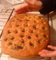 Simple to Make Rosemary Herb Focaccia Bread