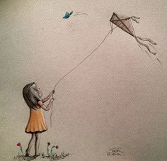 Poppy with Kite