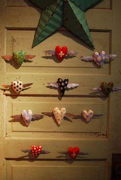 Hearts-on-door