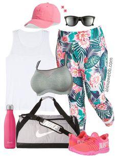 e1de9a4126d Plus Size Summer Activewear - Plus Size Workout Clothes - Plus Size Fashion  for Women -