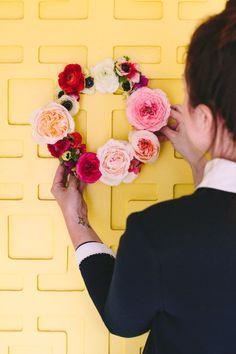 花瓶に活けるだけじゃないお花との関係スワッグリースの作り方