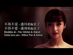 Wilbur Pan - Bu De Bu Ai 不得不爱 - Pinyin Lyrics, Chinese, English. [LyricLaoshi] - YouTube