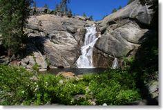Chilnualna Falls, Dean's favorite spot in Yosemite.