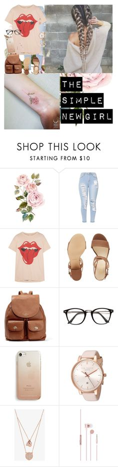 """""""The Simple New Girl"""" by infinite-exo-girl ❤ liked on Polyvore featuring MadeWorn, Nine West, Coach, Rebecca Minkoff, Ted Baker, Michael Kors and Love Is"""