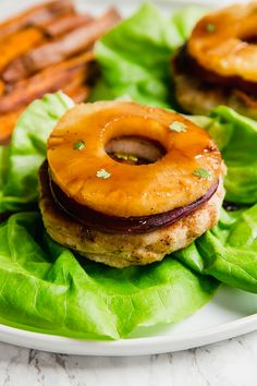 These Hawaiian Teriyaki Chicken Burgers are next level decadent. With grilled pineapple and a yummy teriyaki sauce, they're perfect for a summer day. These burgers are healthier, paleo, and AIP. Healthy Eating Recipes, Paleo Recipes, Crockpot Recipes, Real Food Recipes, Chicken Recipes, Keto Chicken, Healthy Eats, Teriyaki Sauce, Teriyaki Chicken