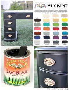 General Finishes Milk Paint. What is it and how to use it.