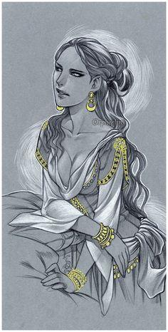 Oriental beauty by orpheelin.deviantart.com on @deviantART