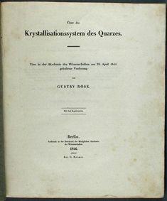 Rose, Gustav (1846)