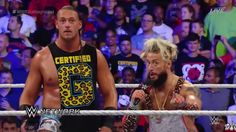 Enzo Amore and Big Cass had some