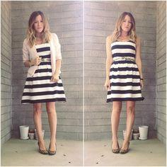 Black & White Stripes Leopard Heels Mix Prints